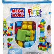 First Builders Mega Bloks con 60 piezas