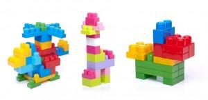 First Builders Mega Bloks podemos crear muchas construcciones distintas