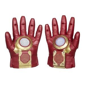 Guantes Iron Man Marvel Avengers Hasbro (solo tiene luz y sonido uno de los guantes)