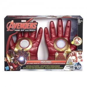 Guantes electrónicos Iron Man Marvel Avengers Hasbro