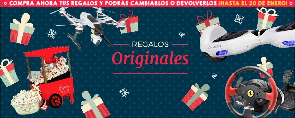 Ideas para regalar PcComponentes