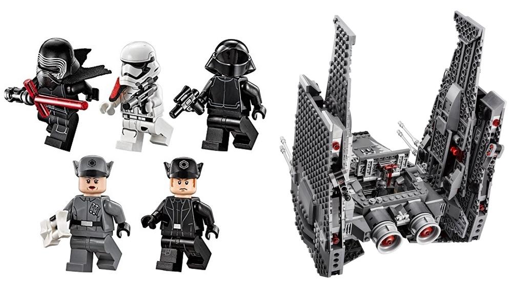LEGO Star War 75104 nave y 6 mini figuras con accesorios