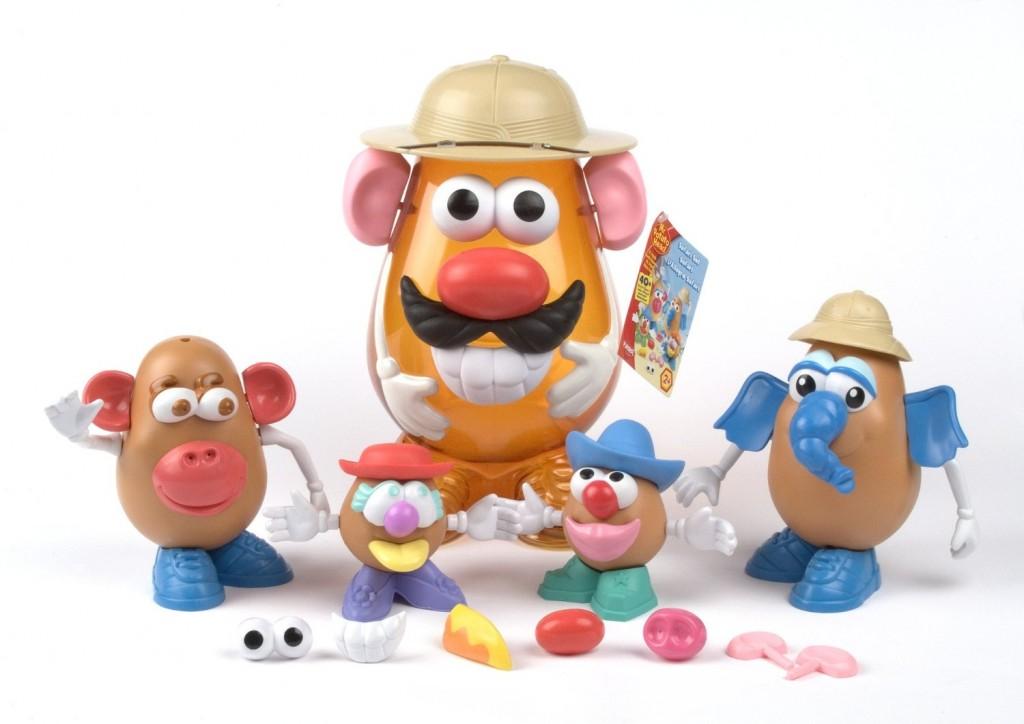 Mr. Potato Safari con familia de potatos
