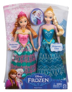 Pack Anna y Elsa Frozen Mattel BDK37