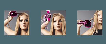 Rizos fáciles con Babyliss Fashion Curl Secret C901PE