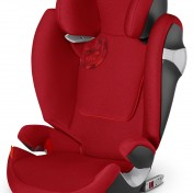 Silla de coche Cybex Solution M-fix roja