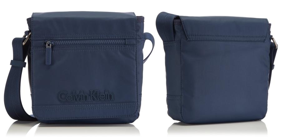 Bandolera Calvin Klein Jeans Metro Reporter por delante y por detrás