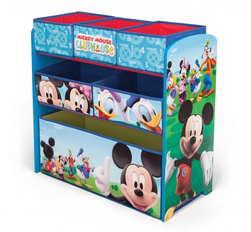 Mueble organizador infantil Disney Mickey Mouse