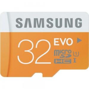 Tarjeta de memoria MicroSDHC Samsung EVO 32GB