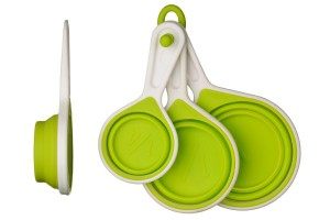 tazas medidoras plegables Premier Housewares