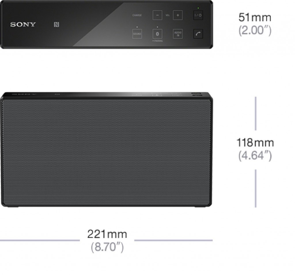 Altavoz 2.1 Sony SRS-X55 con Bluetooth