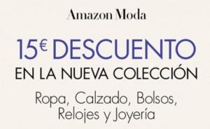 Amazon moda descuento