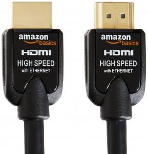 Cable HDMI de alta velocidad AmazonBasics