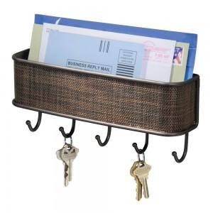 Colgador de llaves con cesta Interdesign 95870EU Twillo