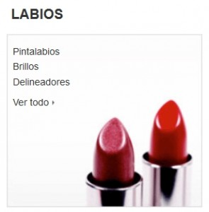 Maquillaje Amazon labios