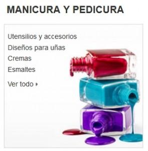 Maquillaje Amazon manicura pedicura