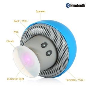 Mini altavoz Bluetooth con forma de seta HanLuckyStars