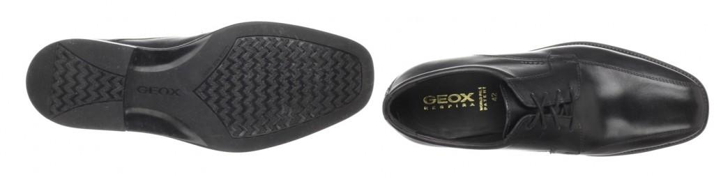 Zapatos de cordones de cuero para hombre Geox UOMO LONDRA