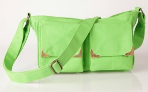 bolso bandolera verde