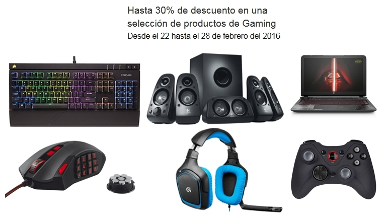 productos de Gaming