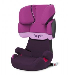 Cybex Solution X-fix color morado