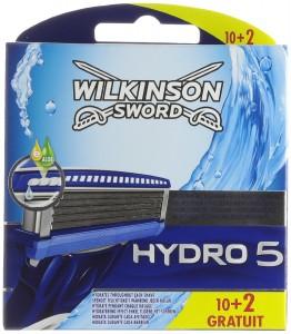 Pack de 12 cuchillas de recambio Wilkinson Sword Hydro 5