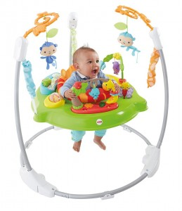 Saltador animalitos de la selva Fisher Price