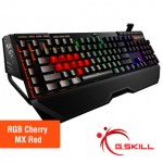 Teclado Gaming RGB Cherry MX Red G.Skill Ripjaws KM780