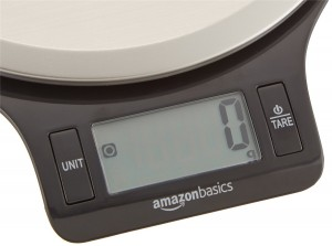 Báscula de cocina AmazonBasics