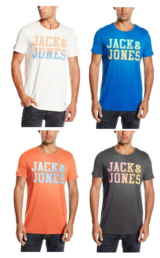 Camiseta Jack & Jones en varios colores