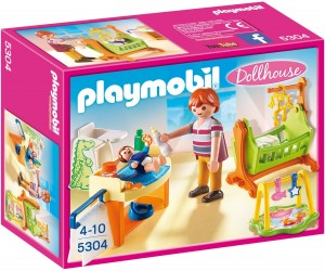 Habitación del bebé con cuna Playmobil 53040