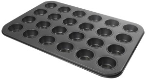 Molde para 24 mini magdalenas Everyday Baking