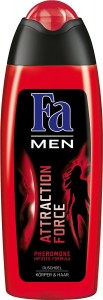 gel de ducha Fa men attraction force