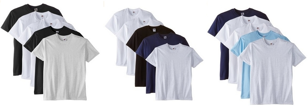 pack Fruit of the Loom Premium Tee