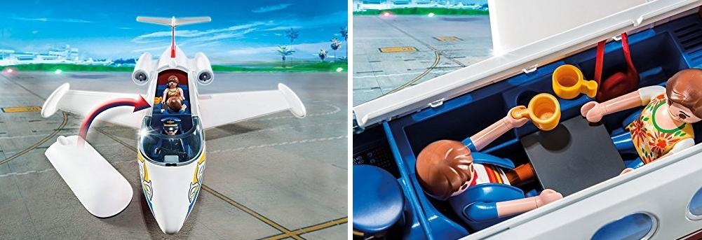 Avión de vacaciones Playmobil