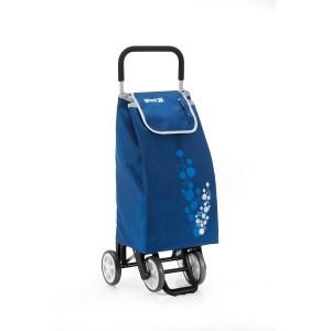Carro de la compra Gimi Twin en color azul