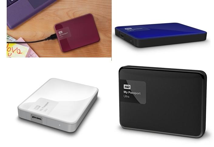 Disco duro Western Digital My Passport Ultra de 3TB