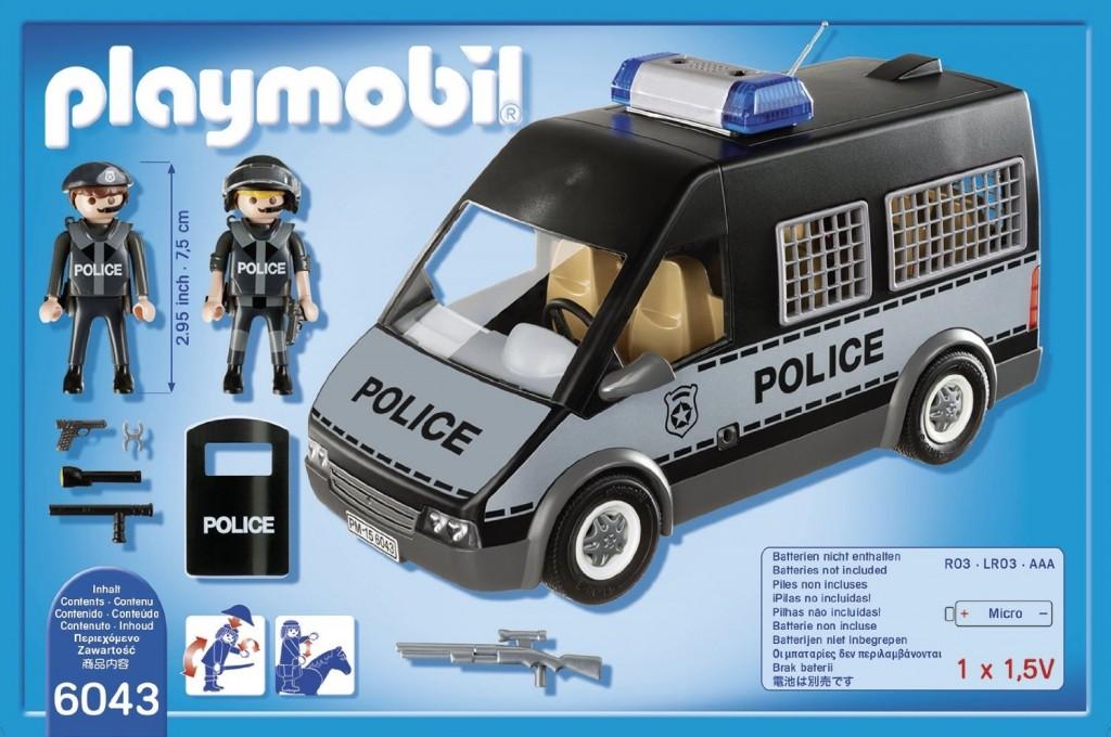 Furgón de policía Playmobil 6043
