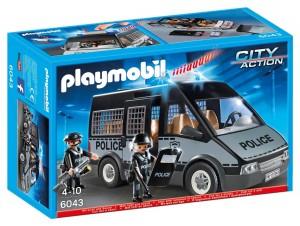 Furgón de policía con luces y sonido Playmobil 6043