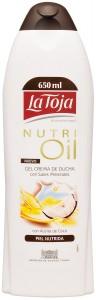 Gel de ducha La Toja Nutri Oil