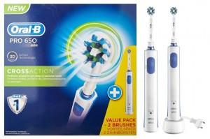 Pack cepillo de dientes Oral-B PRO 650