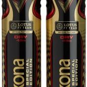 Pack desodorantes Rexona men Lotus F1