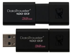 Pendrive(Memoria USB 3.0) Kingston DT100G3 de 32GB