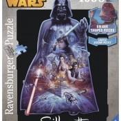 Puzzle silueta Darth Vader Ravensburger