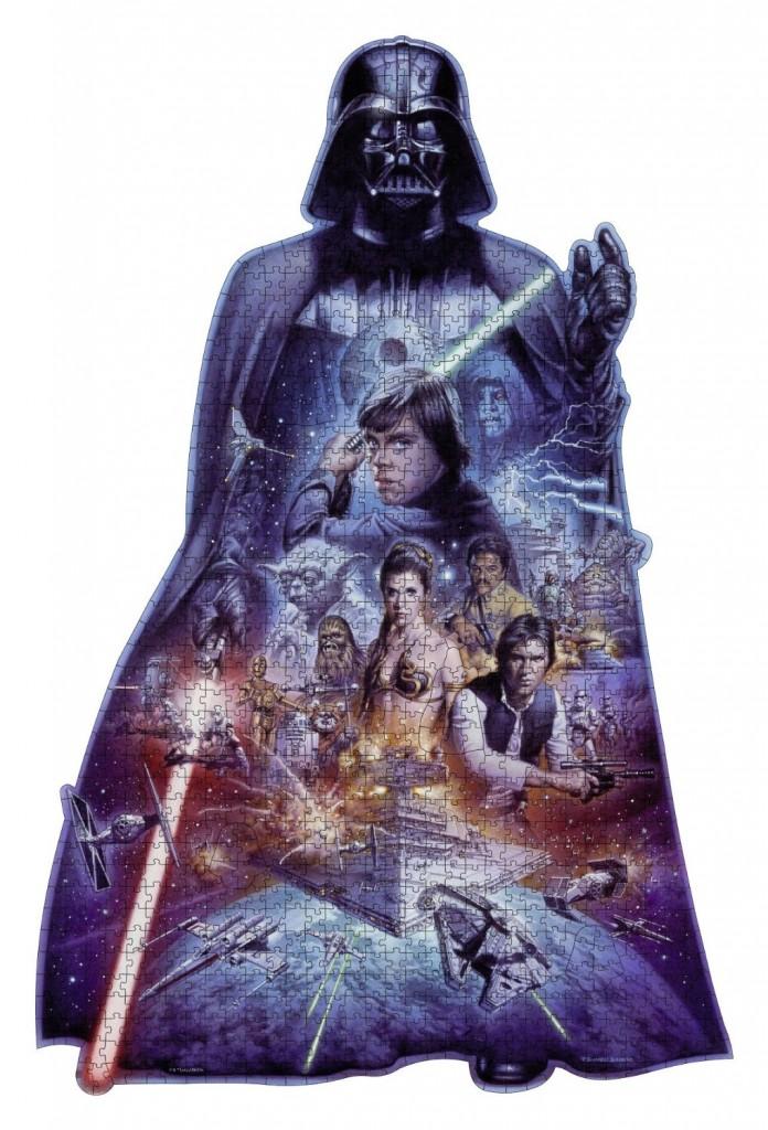 Puzzle silueta Darth Vader Star Wars Ravensburger