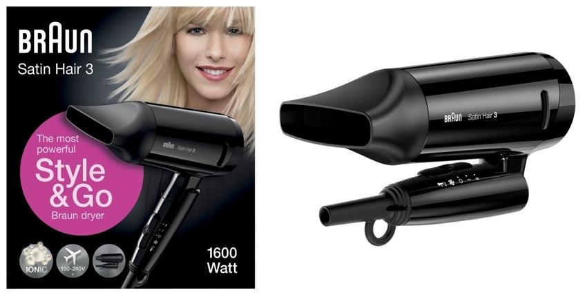 Secador de pelo Braun Satin Hair 3 HD350 Style&Go