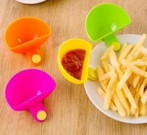 Set de 4 recipientes para salsas