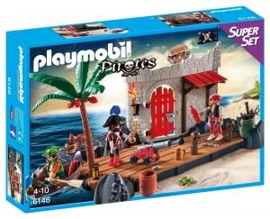 Superset fortaleza de piratas Playmobil 6146