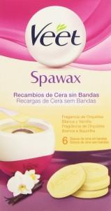 discos de cera para kit Spawax con aroma a orquídia blanca y vainilla