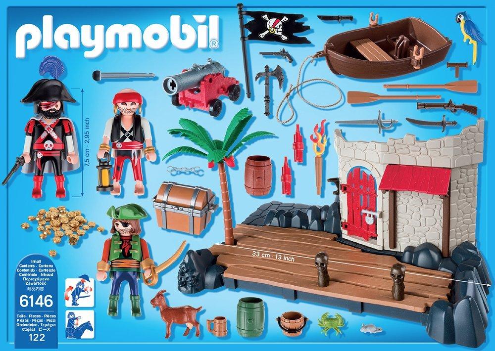 fortaleza de piratas Playmobil 6146